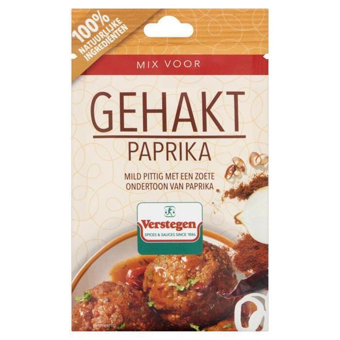 Verstegen mix voor gehakt paprika 40 g zakje (40g)