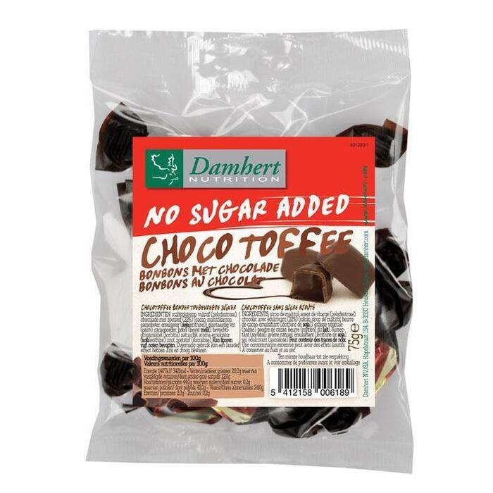 Chocotoffee suikervrij (75g)