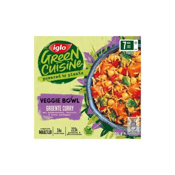 Iglo Ping&Klaar Veggie Bowl Groente Curry (blister, 380g)