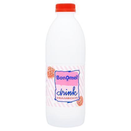 Bonomel drinkyoghurt framboos 1 kg fles (0.95L)
