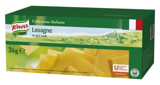 Knorr Collezione Italiana Lasagne (bak, 3kg)