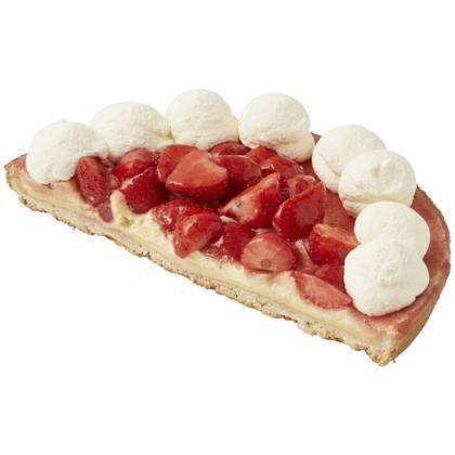 Luxe aardbeienvlaai half (blister, 665g)