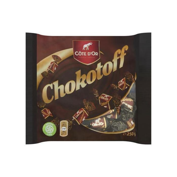 Côte d'Or Toffees chokotoff puur (250g)