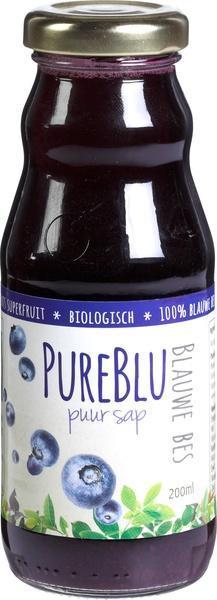 Blauwe bessensap (200ml)