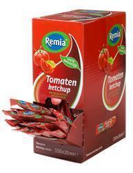 REMIA TOMATENKETCHUP VK 150 STICKS (bak, 20ml)