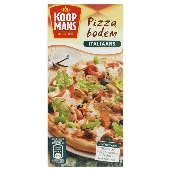 Pizza Bodem Italiaans (Stuk, 450g)