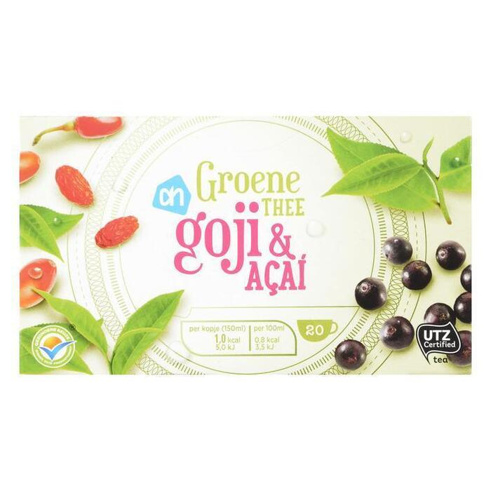 AH Groene thee goji & acai