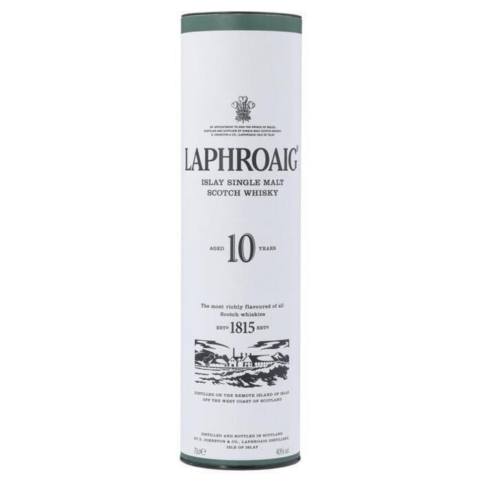 Laphroaig Islay Malt 10 years old (rol, 0.7L)