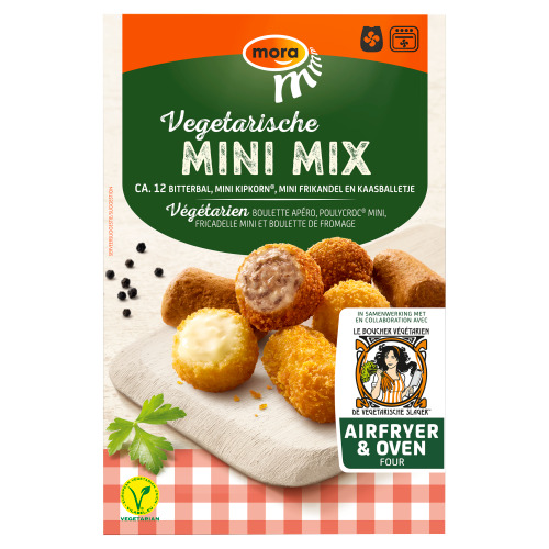 Mora Vegetarische Mini Mix 12 x 20 g (240g)