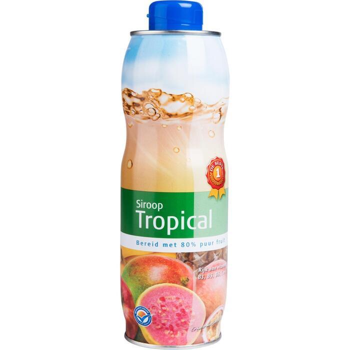 Limonadesiroop tropical (0.75L)