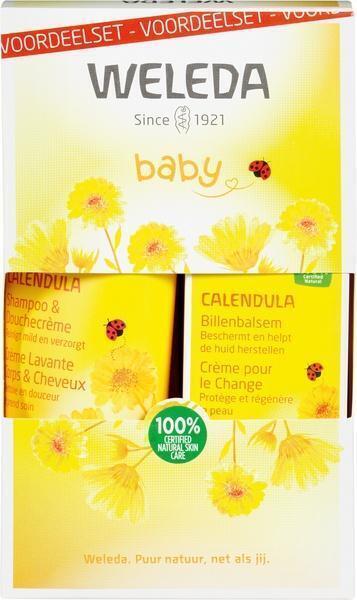 Calendula baby billenbalsem set (75ml)