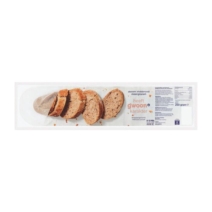 g'woon Baguettes rustiek meergranen (250g)