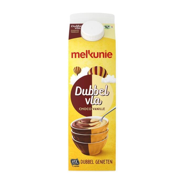 Dubbelvla vanille-chocolade (1L)