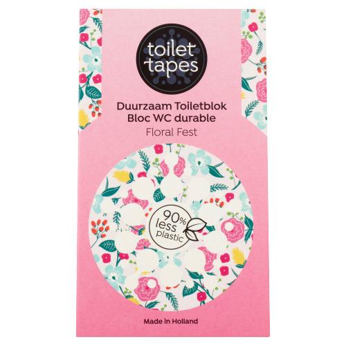 Toilet Tapes Duurzaam Toiletblok Floral Fest 18 g (18g)