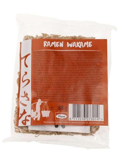 Noodles Ramen wakame TerraSana 88g (88g)