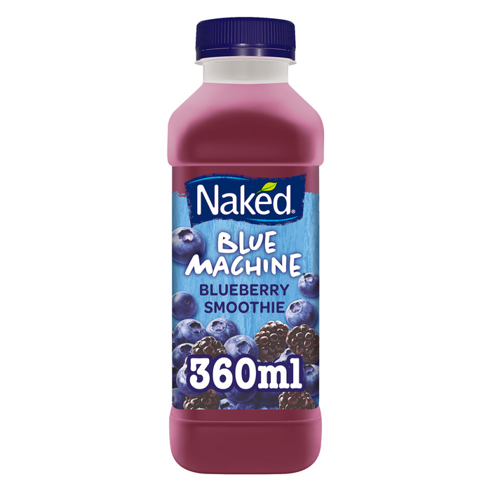 Naked Smoothie Blue Machine Apple & Blueberry Smoothie 360ml (36cl)