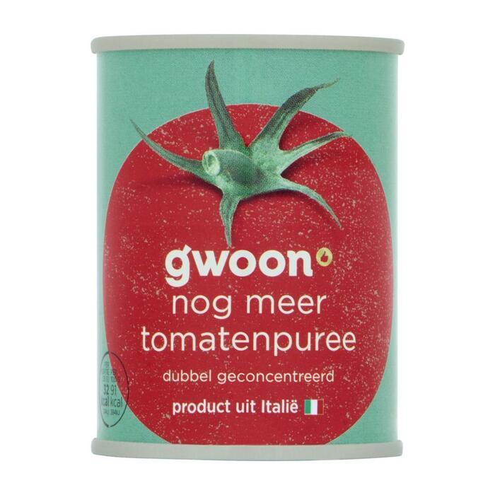 g'woon Tomatenpurree dubbel geconcentreerd (140g)