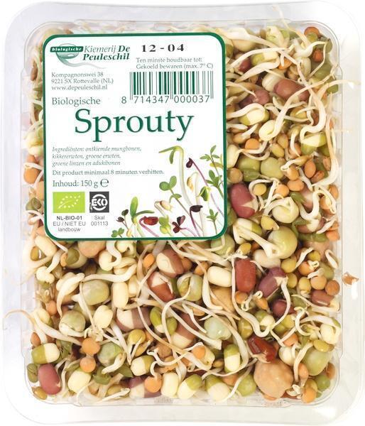 De Peuleschil Sprouty (Bakje, 150g)