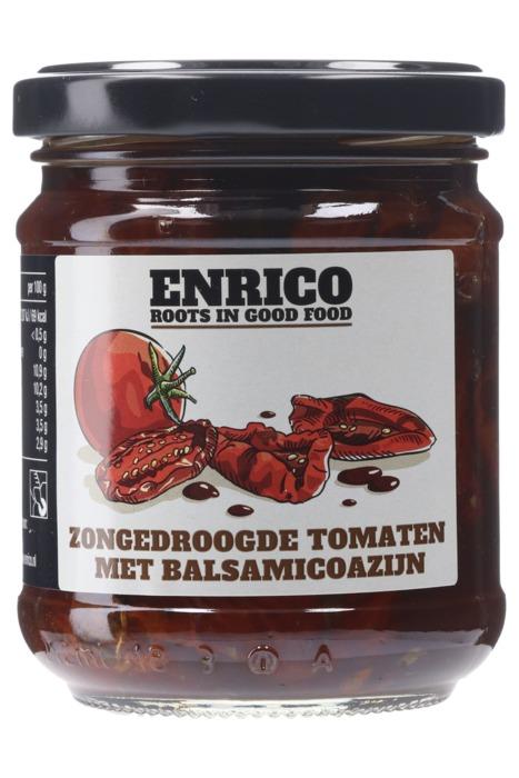 Enrico® Zongedroogde Tomaten met Balsamicoazijn 215 g (215g)
