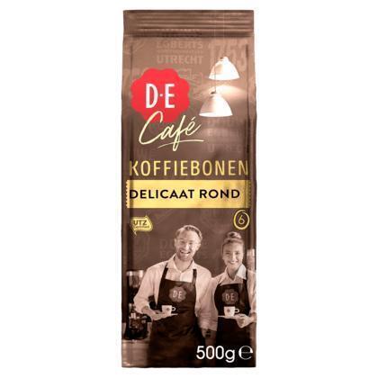 Douwe Egberts Bonen café delicaat rond (500g)