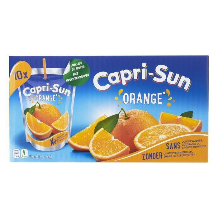 Capri-Sun Orange Stevia Pouch 0.2L 1x (10 × 200ml)