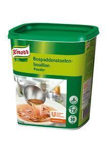 Knorr Bospaddestoelenbouillon Authentiek (fles, 6 × 1kg)