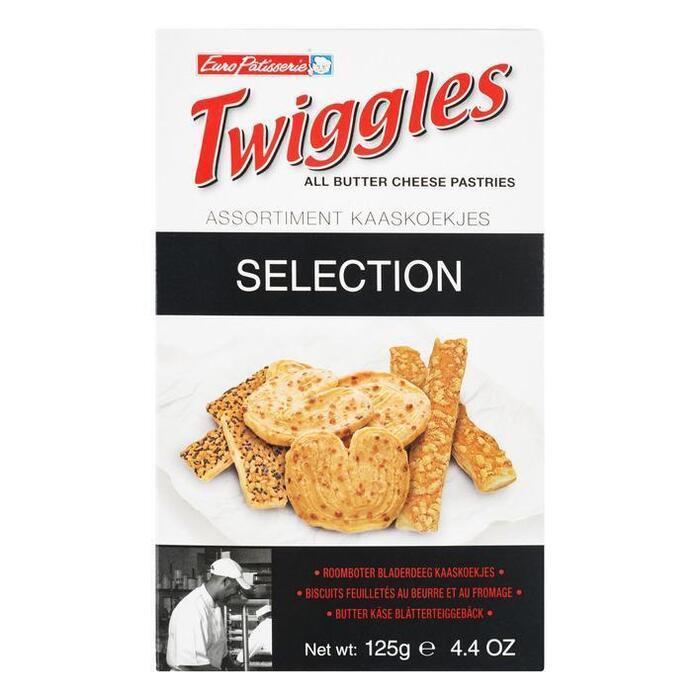 Twiggles Kaaskoekjes Selectie (125g)