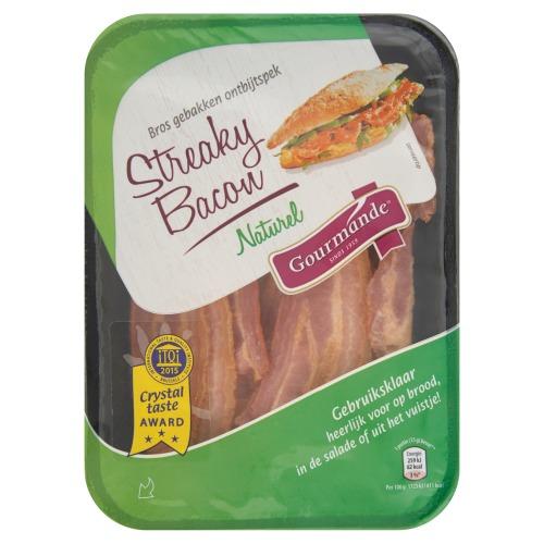 V.d. Bilt Streaky Bacon Naturel 80 g (80g)