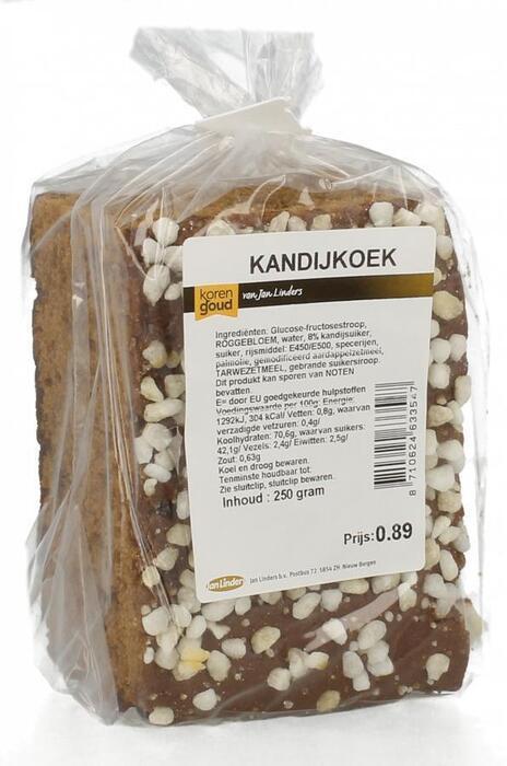 Korengoud Kandijkoek half (250g)