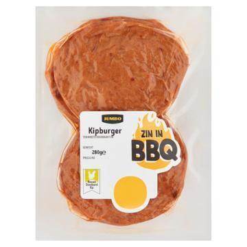 Jumbo BBQ Kipburger 280 g (280g)
