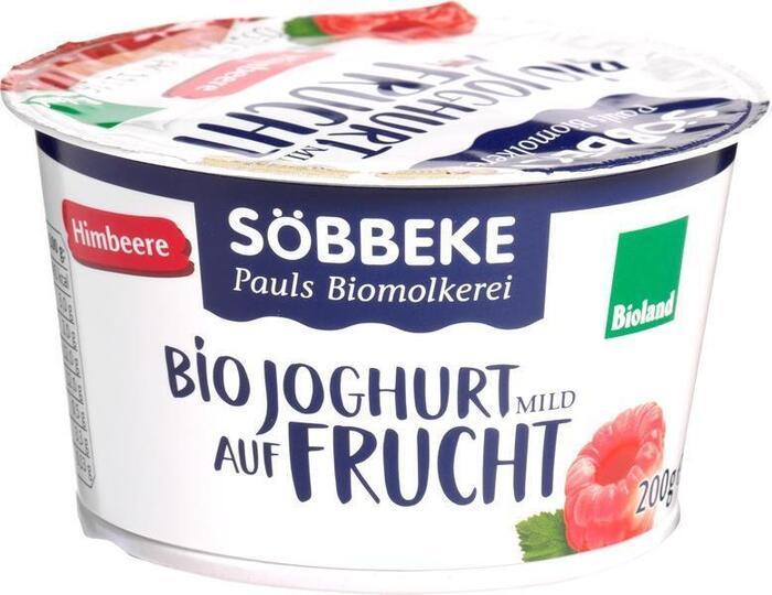 Yoghurt op vrucht framboos (200g)