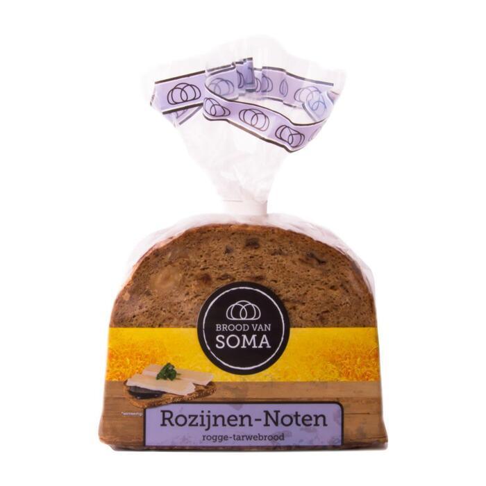 Roggebrood rozijnen-noten (400g)