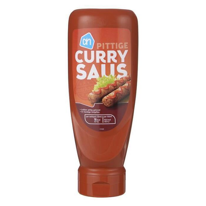 Pittige Curry saus (fles, 0.5L)