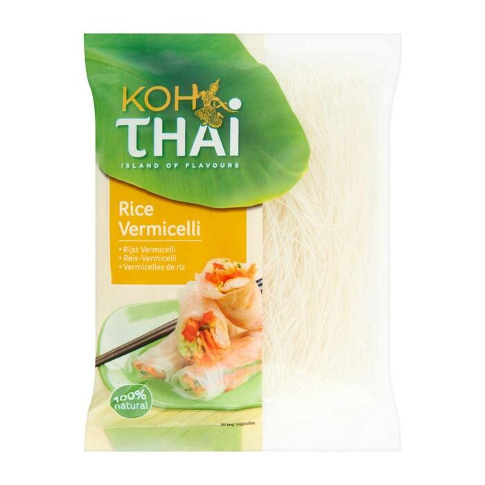 Koh Thai Rice vermicelli voor rijstloempia's (100g)