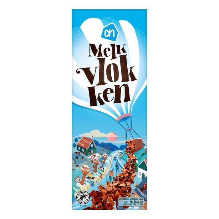 AH Melk chocolade vlokken (300g)