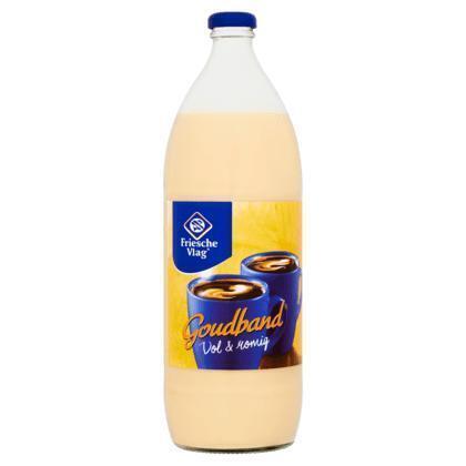 Friesche Vlag Goudband Vol & Romig 1000 ml (fles, 1ml)