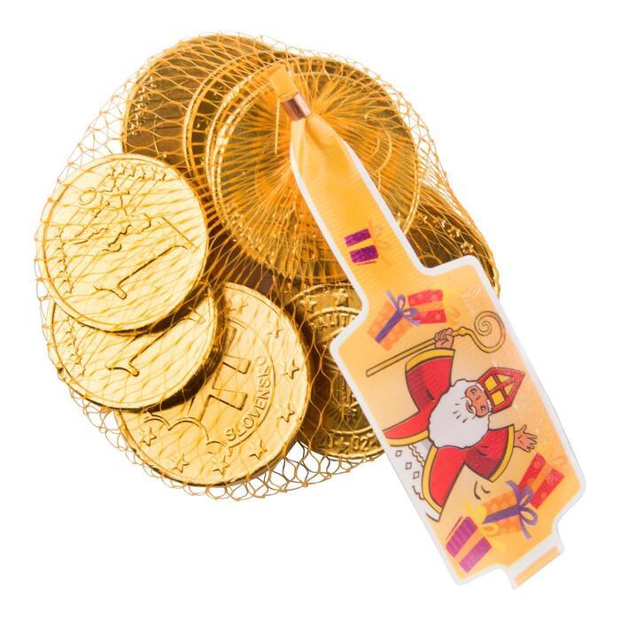 ABS Sweets Melkchocolade Munten 100GR (100g)