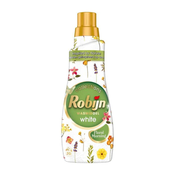 Robijn Wasmiddel klein & krachtig floral morning (0.66L)