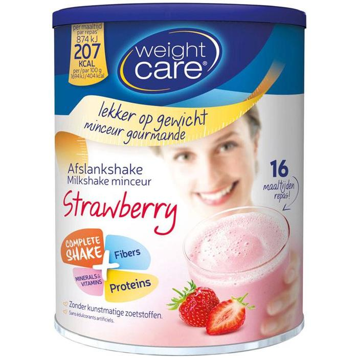 Weight Care Afslankshake Strawberry 436g (436g)