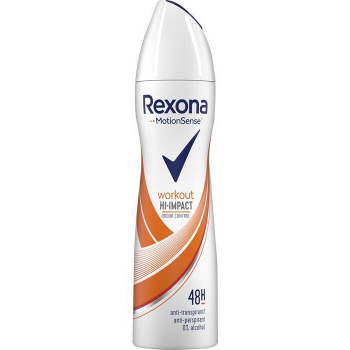 Rexona Workout hi-impact anti-transpirant spray (150ml)