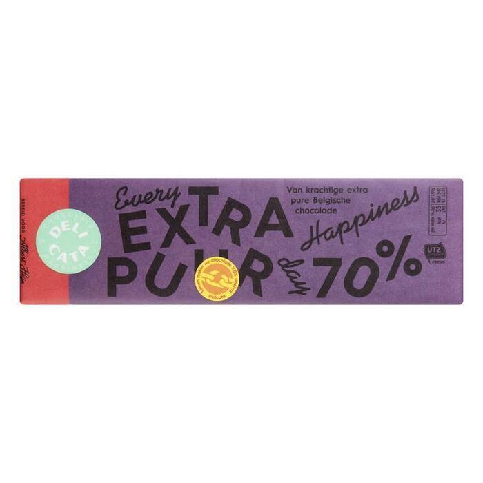 Extra Bittere Chocolade Delicata (200g)