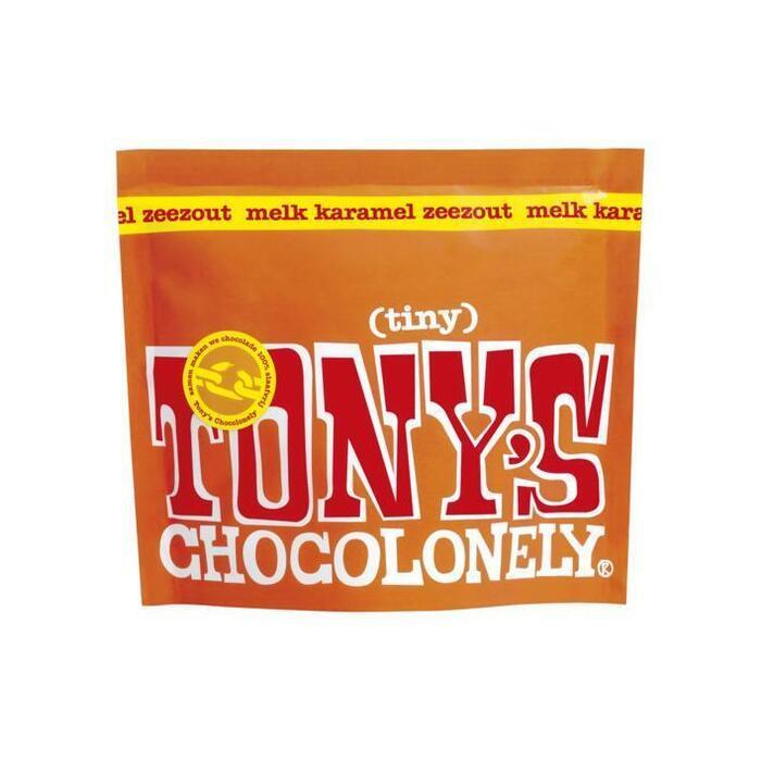 Tony's Chocolonely Tiny Tony's melk karamel zeezout (180g)