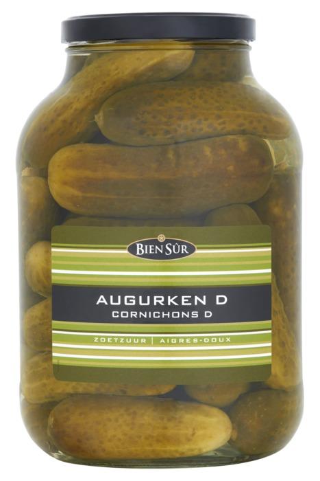 Bien Sûr Augurken D Zoetzuur 2450 g (2.45kg)