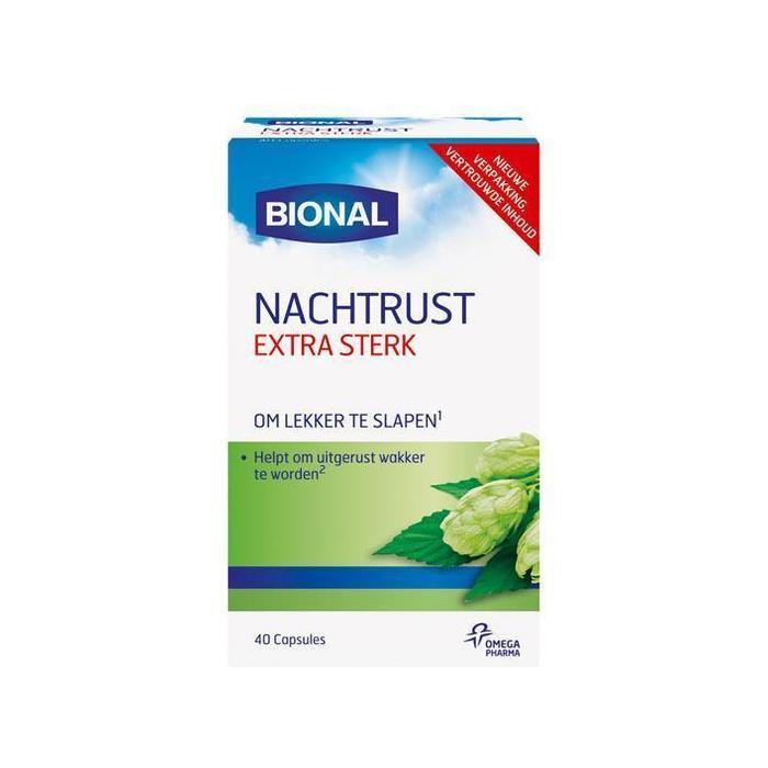 Bional Nachtrust melatonine (40 st.)