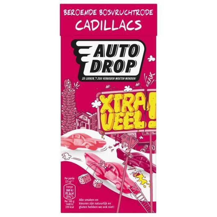 Autodrop Bosvruchtrode cadillacs XL (380g)