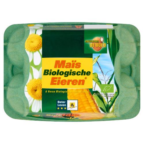 Biologische Maisei. L/M 6 stuks