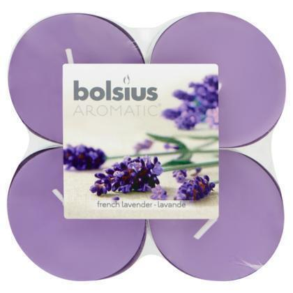 Bolsius Geurtheelichten lavendel maxi (8 × 325g)