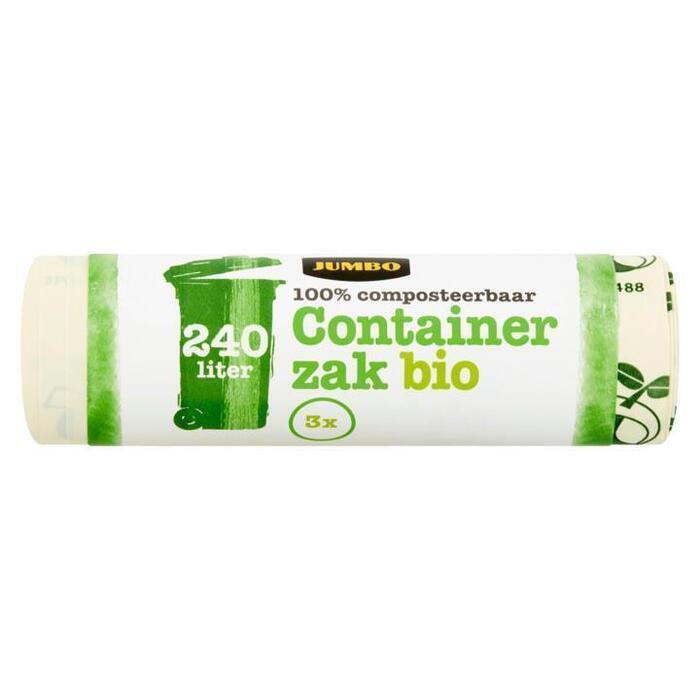 Jumbo Containerzak Bio 240 Liter 3 Stuks (3 st.)