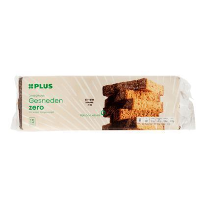 Ontbijtkoek zero gesneden (475g)