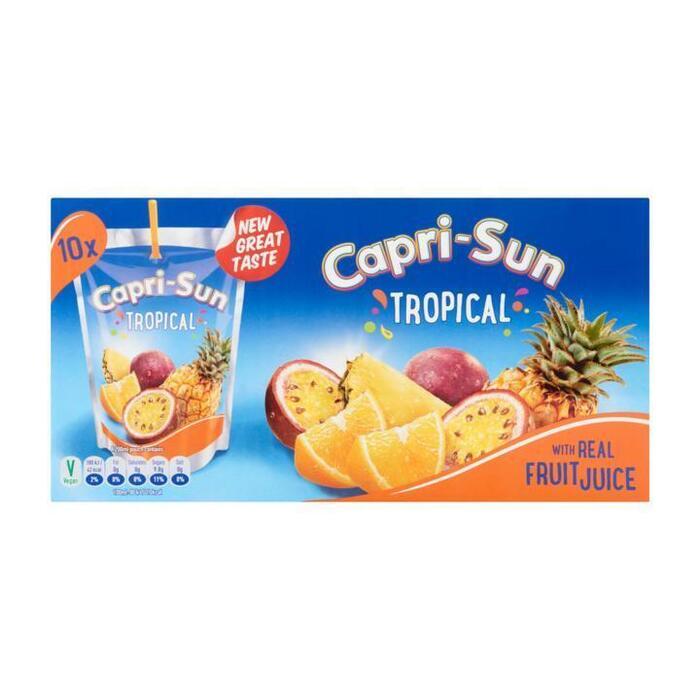 Capri-Sun Tropical 10 x 200 ml (10 × 200ml)